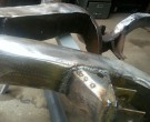 Reinforcing and molding the frame for Impala SS