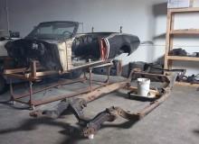 1969 cutlass frame off