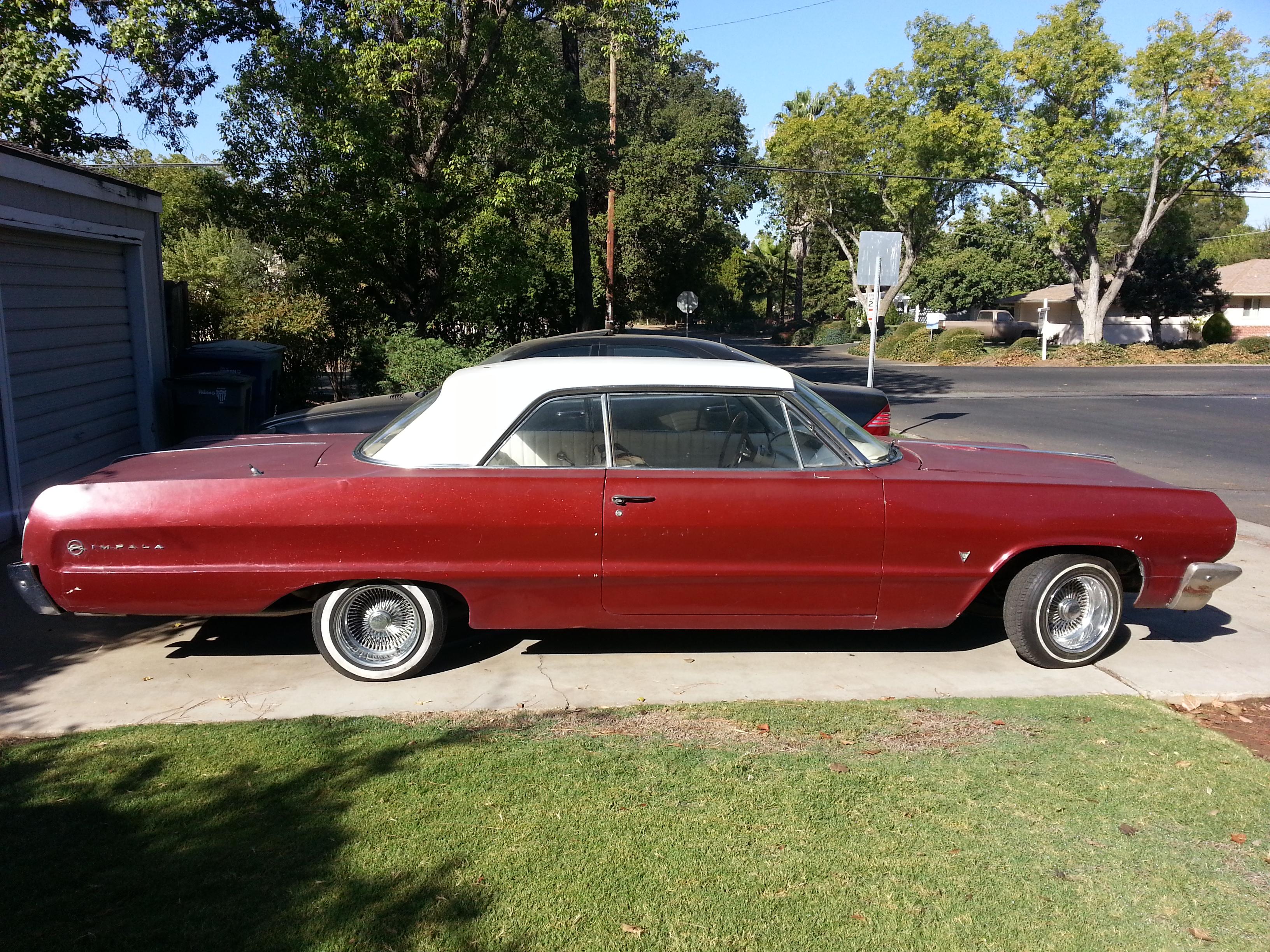Classic car restoration shop & Impala parts 1964 Impala SS »