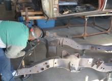 molding a frame