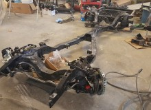 1964 Impala with LS3 getting frame put together