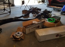 Installing air bags on 1964 Impala with LS3