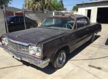 1964 Impala show car getting ready for stripping