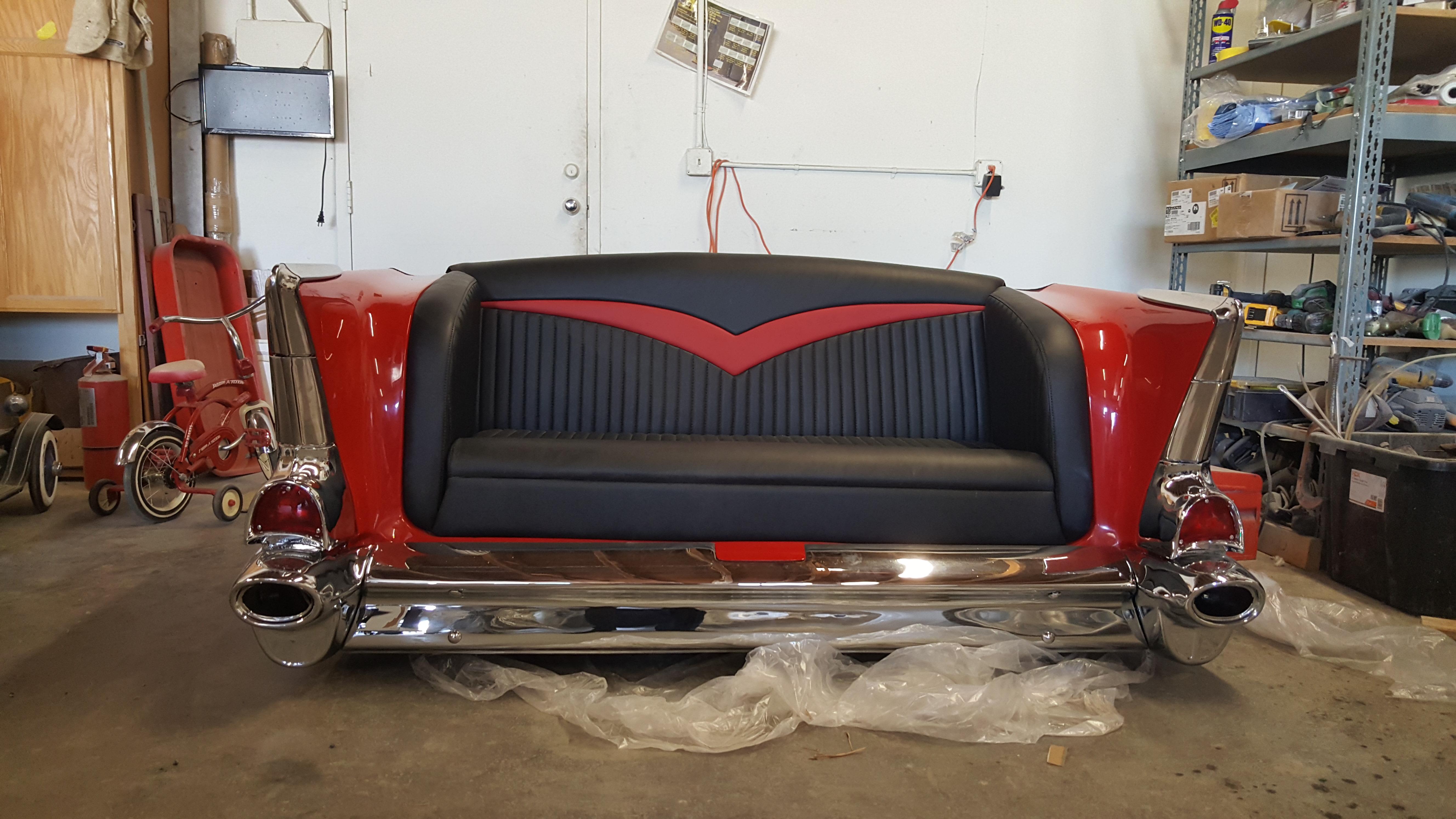 classic car restoration shop impala parts 1957 belair bench seat. Black Bedroom Furniture Sets. Home Design Ideas