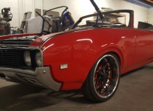 1969 Oldsmobile Cutlass red
