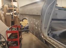 1961 impala convertible lower quarter removal