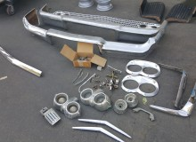 1958 Impala Yeoman moldings going to get chromed