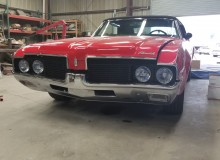 1969 Olds Cutlass finishing touches