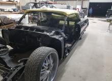 restomod Black 1964 Chevy Impala