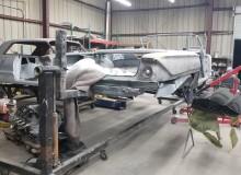 Frame off restoration 1961 Impala Convertible